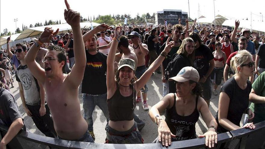 El Viña-Rock 2013 cierra con récord de asistencia a conciertos, 61.000 al día