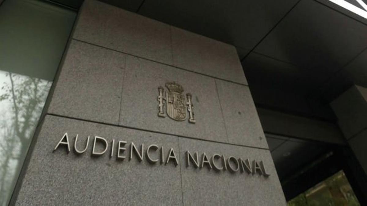 La fachada de la Audiencia Nacional