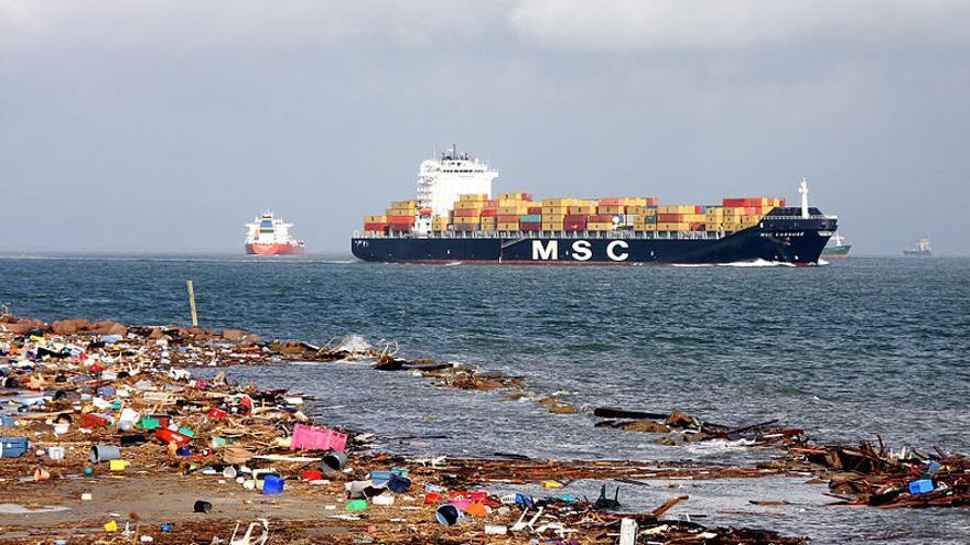 Los denunciantes de vertidos al mar también cuentan con recompensa en Estados Unidos