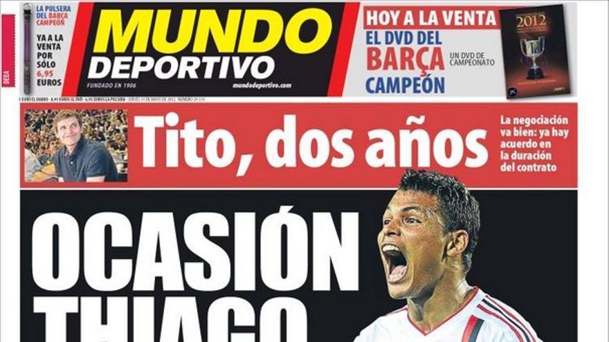 De las portadas del día (31/05/2012) #14