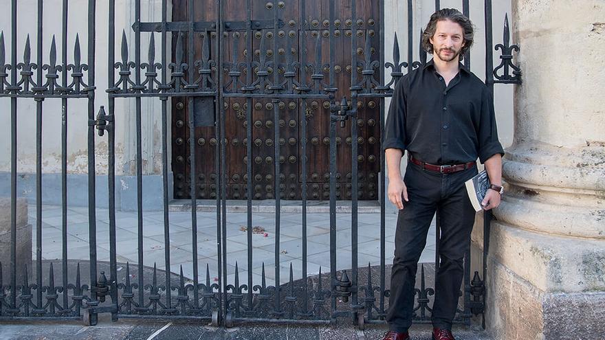 El escritor Pablo Acevedo |TONI BLANCO