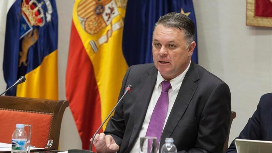 El presidente del Consejo Rector de Radiotelevisión Canaria RTVC, Santiago Negrín