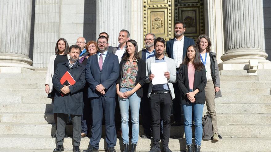 Unidos Podemos-en comú-en Marea presenta PL por regla de gasto