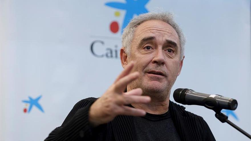 El cocinero Ferran Adrià, este viernes en Santa Cruz de Tenerife