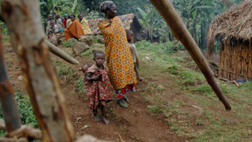 Pigmeos en Ruanda
