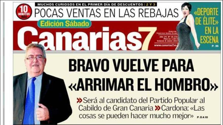 De las portadas del día (08/01/2011) #2