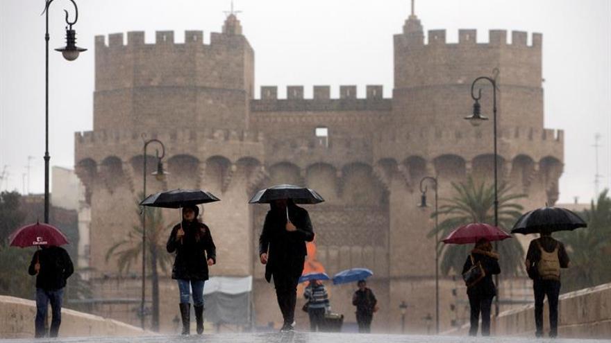 Un temporal dejará fuertes lluvias en el Mediterráneo los próximos días