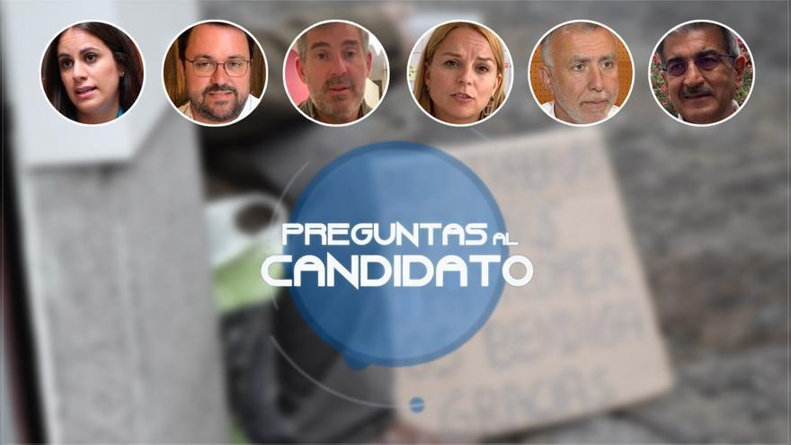 Los candidatos explican sus medidas contra la pobreza en Canarias.