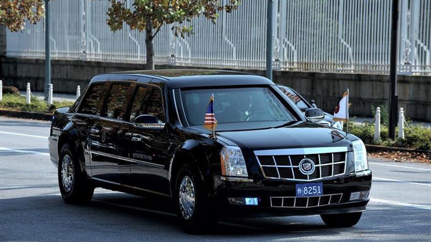 Los emperadores de Japón reciben a Donald y Melania Trump