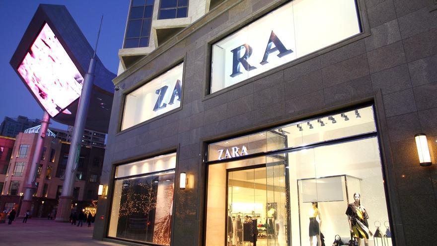 Una tienda de Zara, marca propiedad de Inditex. EUROPA PRESS