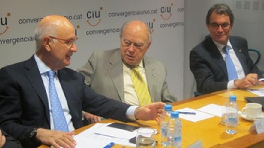 Josep Antoni Duran, Jordi Pujol, Artur Mas (Ciu)