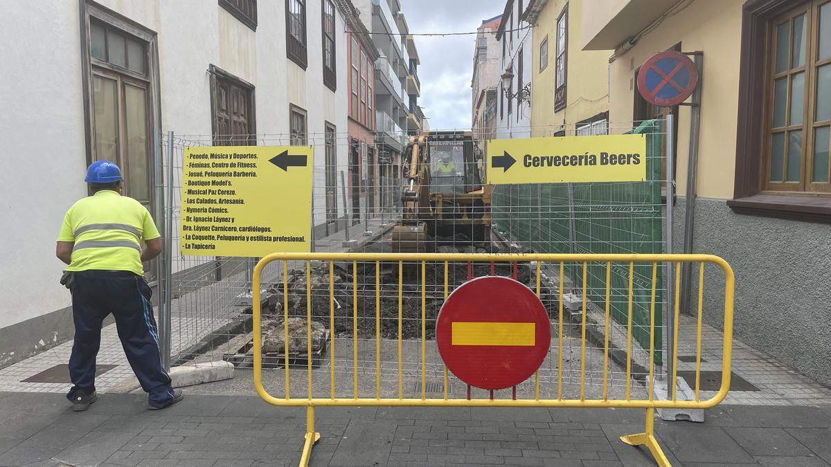 Inicio de los trabajos de peatonalización