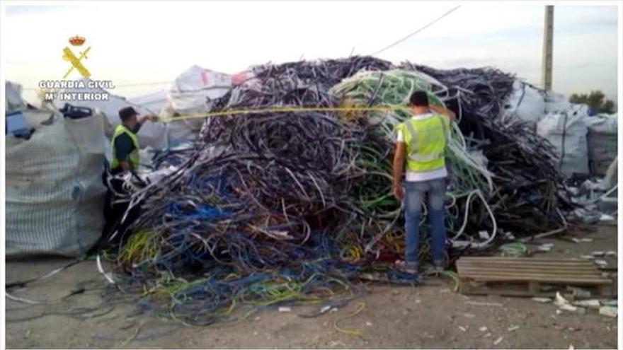 Robados este año 134 km de cable en líneas férreas de Cataluña, un 50% que en toda España