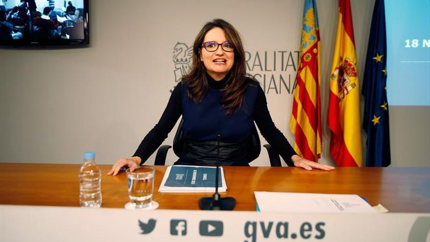 Oltra: Sin opciones de negociar el ERE de RTVV, tenemos que estar a la sentencia