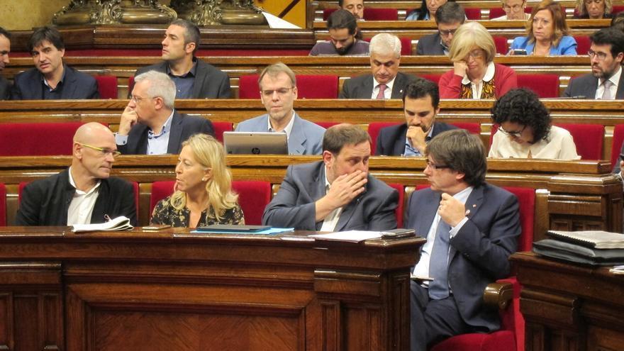 La CUP exige diseñar ya el referéndum y Puigdemont pide aprobar primero las cuentas
