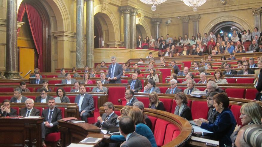 El Parlamento catalán aprobará el jueves 16 la proposición para que el Congreso autorice la consulta
