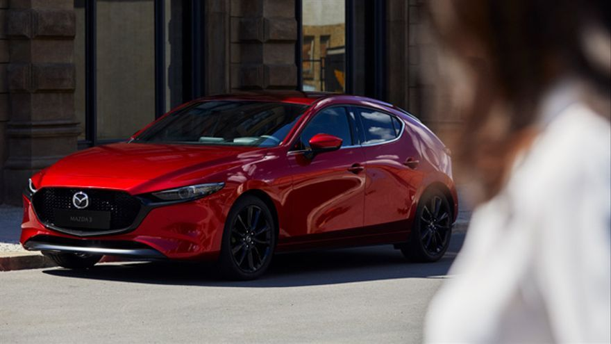 El Mazda3, nacido en 2003, presenta su cuarta generación en 2018.