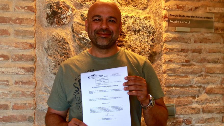 José Molina preguntará en las Cortes por la publicidad institucional