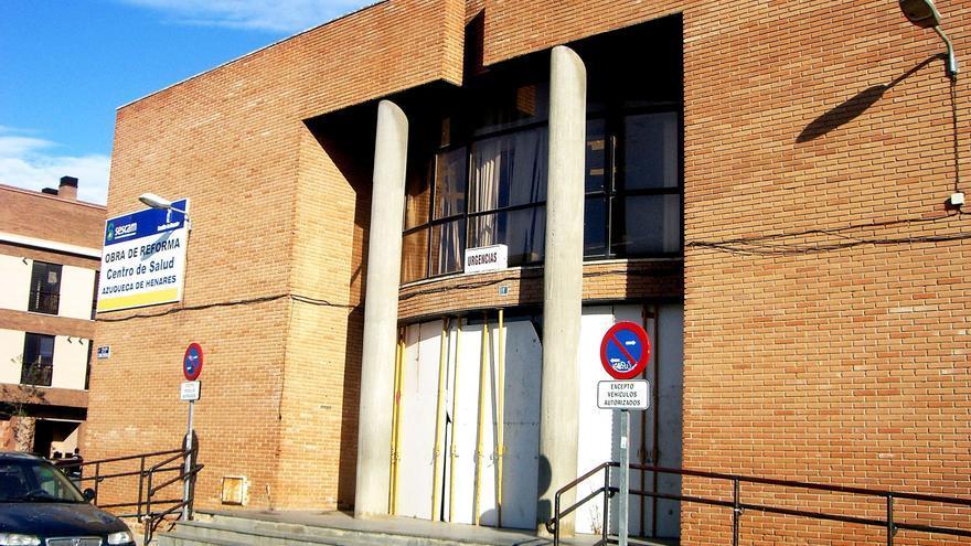 Centro de salud de Azuqueca de Henares, en reformas. Foto oficial.