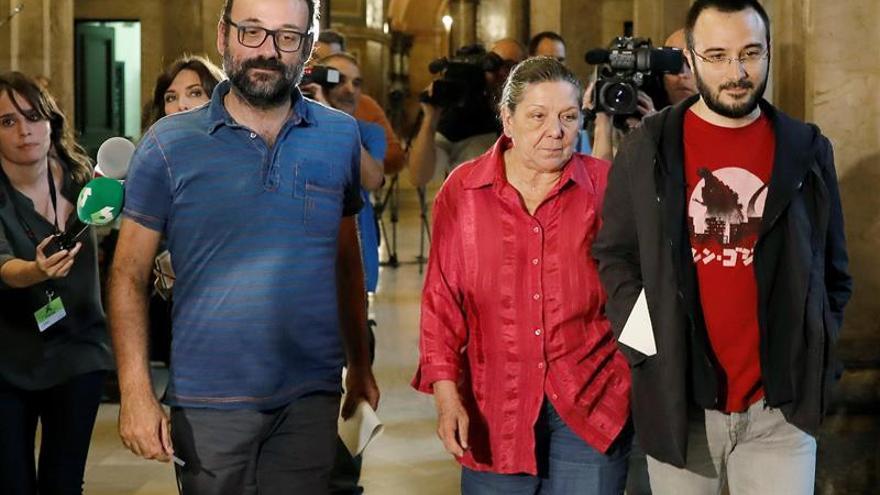 """La CUP hace un llamamiento a """"desobediencia civil masiva"""" ante la """"agresión"""" de 155"""