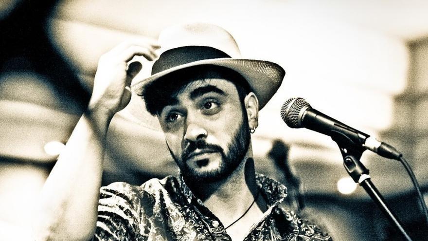 Jorge Marazu, en una de sus actuaciones
