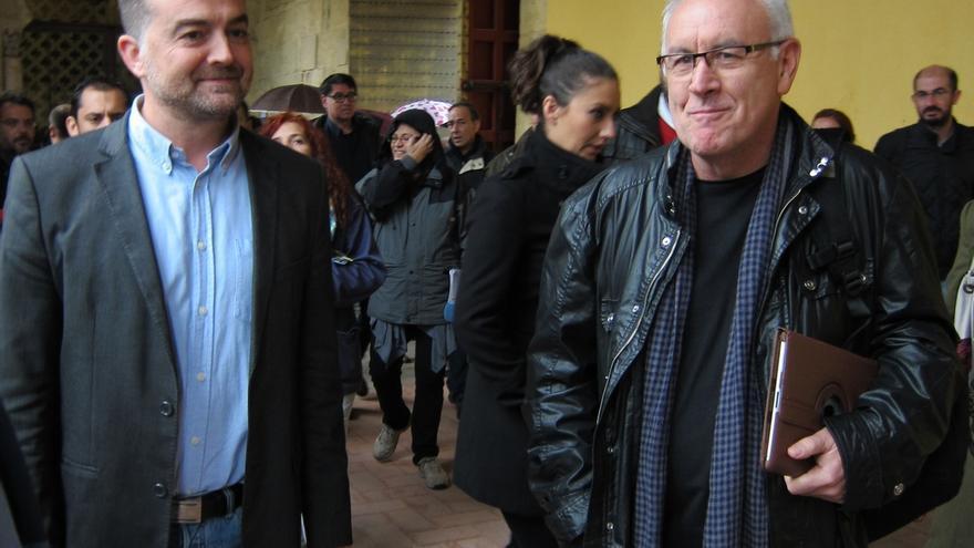 """Cayo Lara da la bienvenida a las propuestas económicas de Podemos, que en IU defienden """"desde su nacimiento"""""""