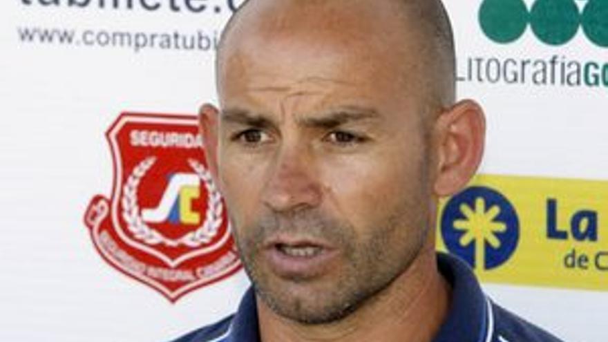 Paco Jémez, entrenador de la UD Las Palmas.