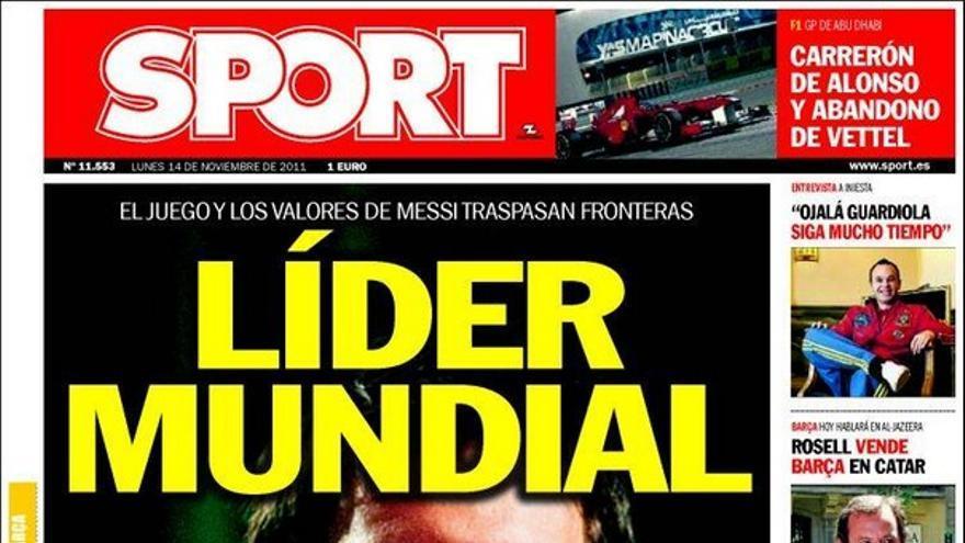 De las portadas del día (14/11/2011) #14