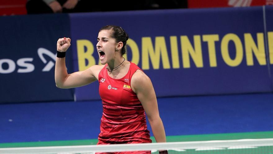 Carolina Marín ya se encuentra en Glasgow con la única intención de lograr un nuevo campeonato Mundial