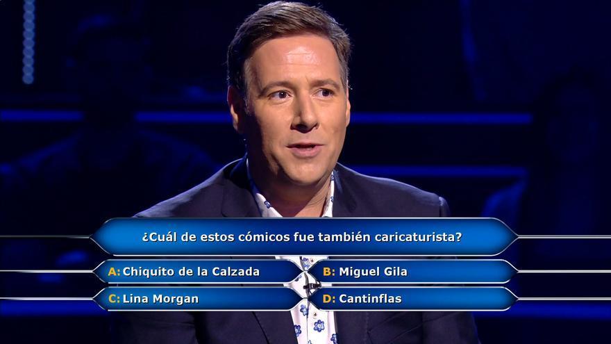 Carlos Latre en '¿Quién quiere ser millonario?'