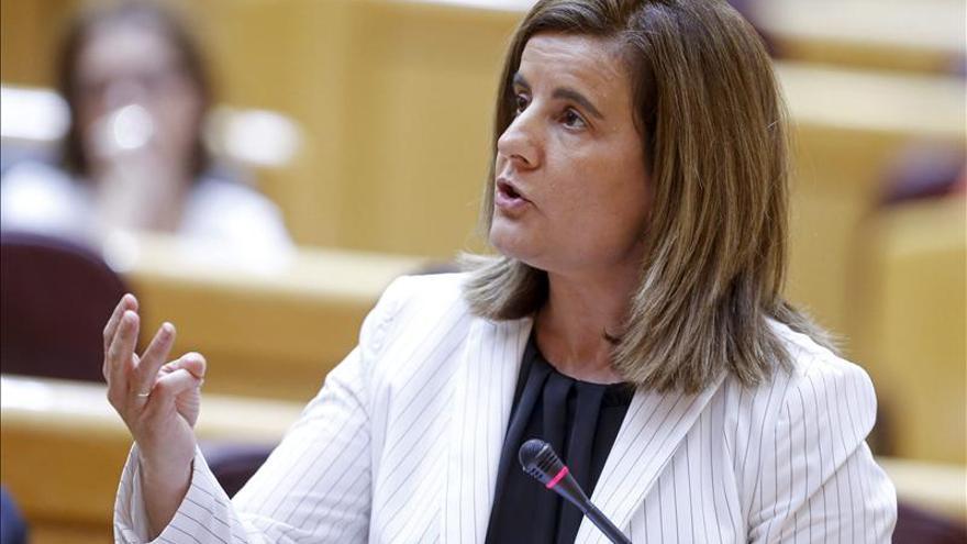 """Báñez insiste en que la reforma laboral """"ya está hecha"""" y solo quedan ajustes"""