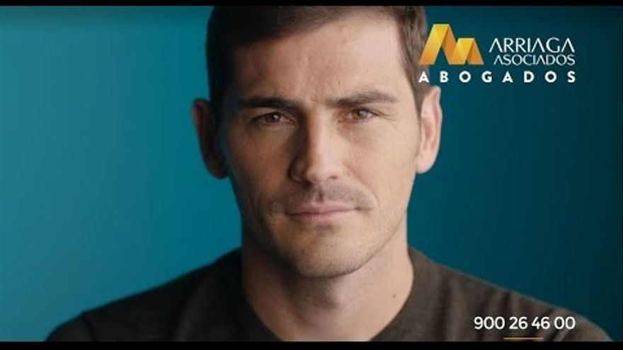 Íker Casillas, el reclamo publicitario de Arriaga Asociados