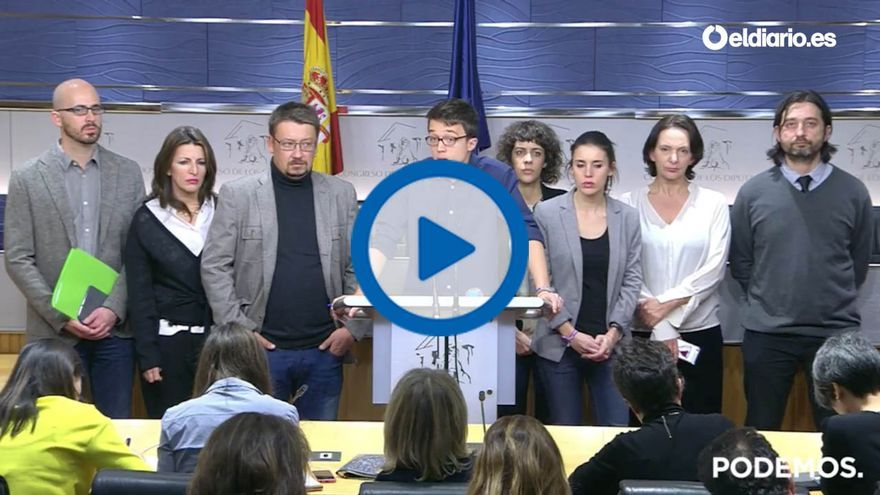 """Íñigo Errejón: """"Es un acuerdo que va a hacer las delicias del IBEX 35"""""""