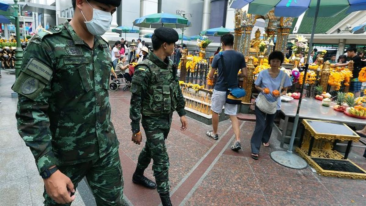 La Policía tailandesa
