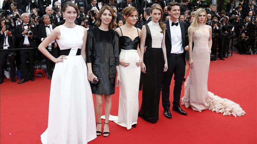 Sofia Coppola, desafiante en la alfombra roja de Cannes con un vestido corto