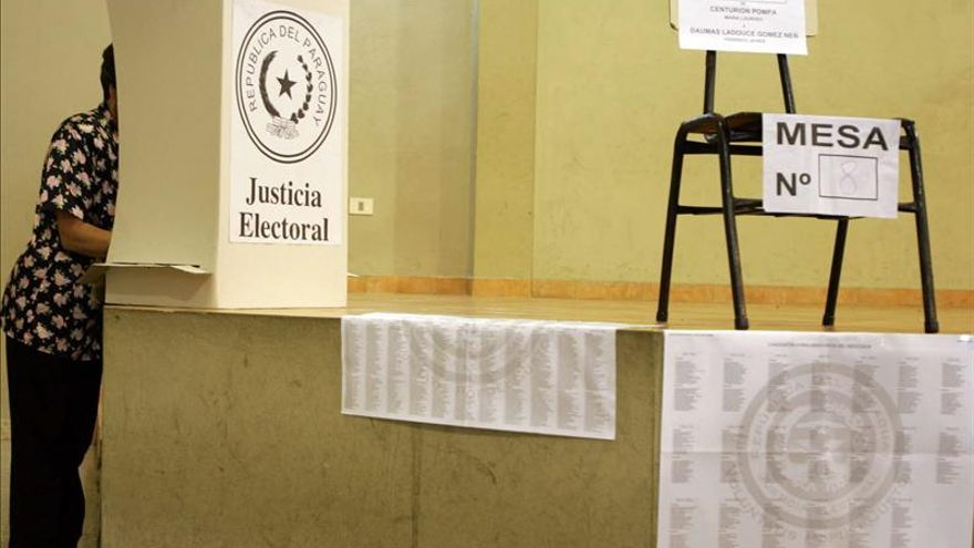 Paraguay comienza una jornada electoral para elegir a sus autoridades municipales