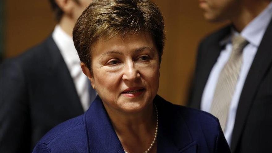 La vicepresidenta de la CE afirma en EE.UU. que la actual crisis de refugiados es global