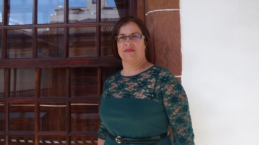 Mayte Rodríguez, consejera de grupo Popular en el Cabildo de La Palma.