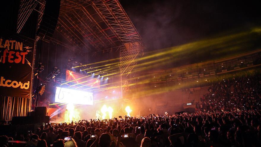 Daddy Yankee, en concierto en València