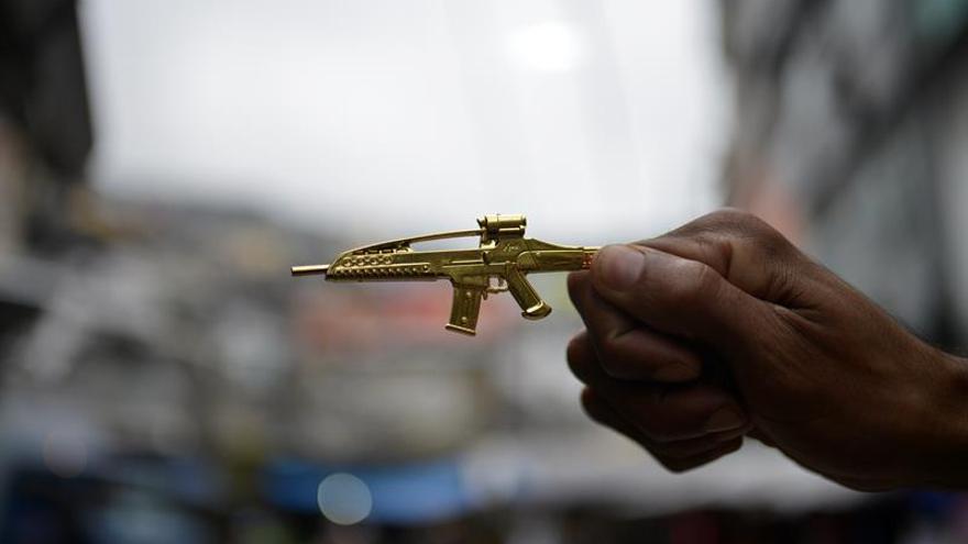 Las armas decomisadas en Brasil son en su mayoría nacionales y pequeñas