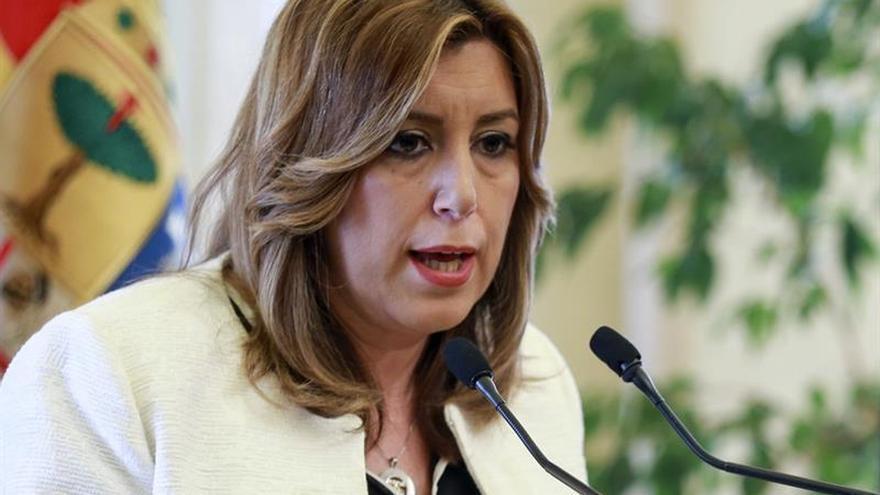 """Susana Díaz: """"PP ha creado un problema de regeneración democrática en Murcia"""""""