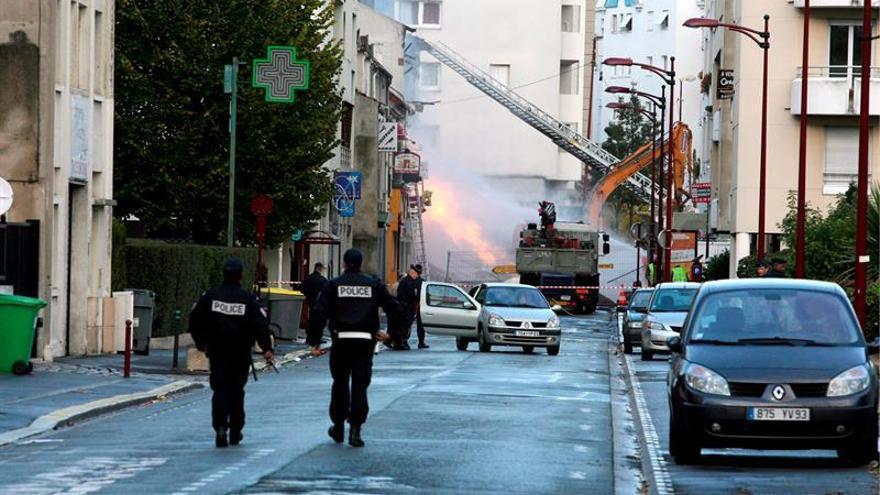 Al menos 8 heridos y una persona sepultada por una explosión de gas en Dijon