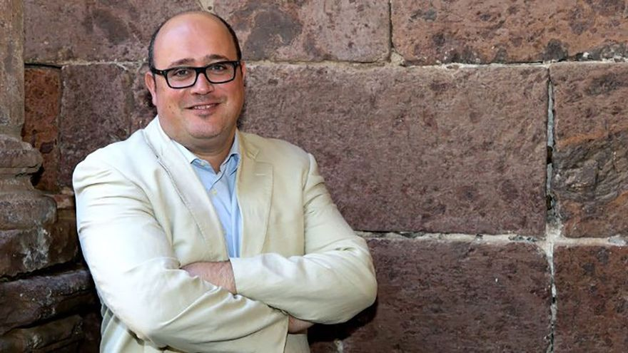 Zebenzuí González, concejal del Ayuntamiento de La Laguna. (Twitter)