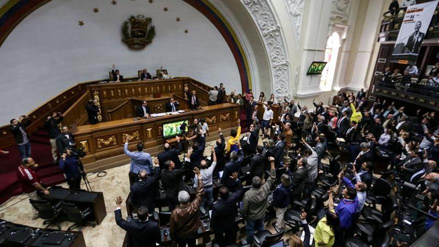 El Parlamento venezolano activa el proceso de remoción de magistrados del Supremo
