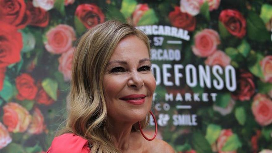 """Ana Obregón vuelve al teatro con """"El contador del amor"""", un """"gran reto"""""""