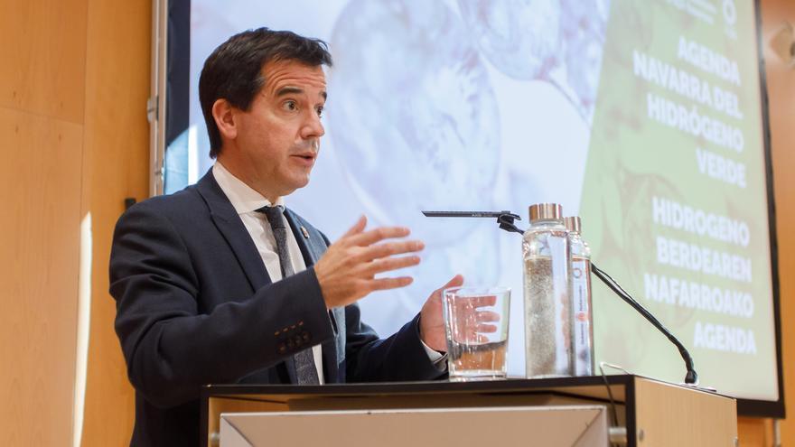 Mikel Irujo, consejero de Desarrollo Económico y Empresarial del Gobierno de Navarra