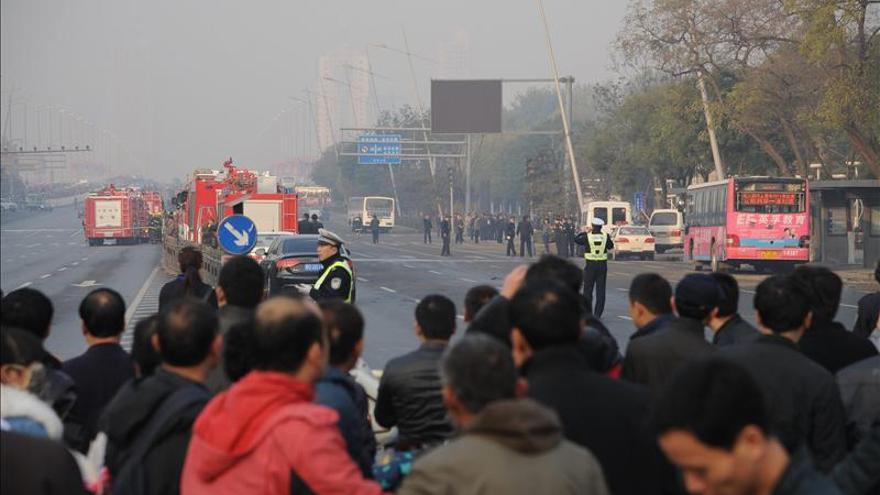 Las autoridades chinas confirman 15 muertos en un atentado este viernes