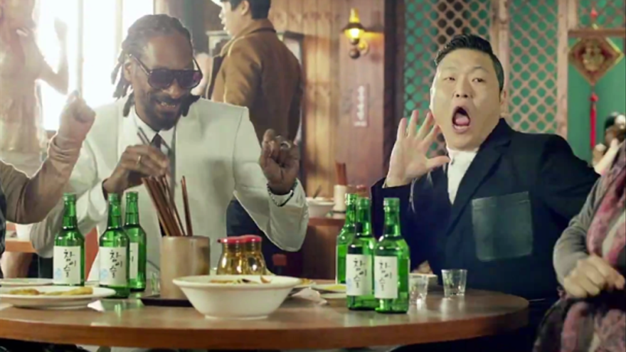 PSY arrasa con su nuevo videoclip: del 'Gagnam style' al 'Hangover'