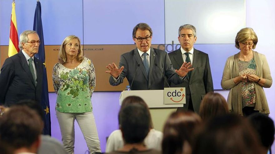 El TSJC avala enviar a juicio a Mas por prevaricación y desobediencia en el 9N