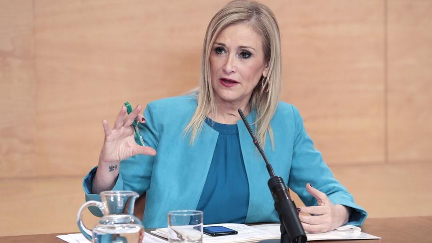 """Cifuentes pone al PP de Madrid """"a disposición"""" de la campaña de Xavier García Albiol"""